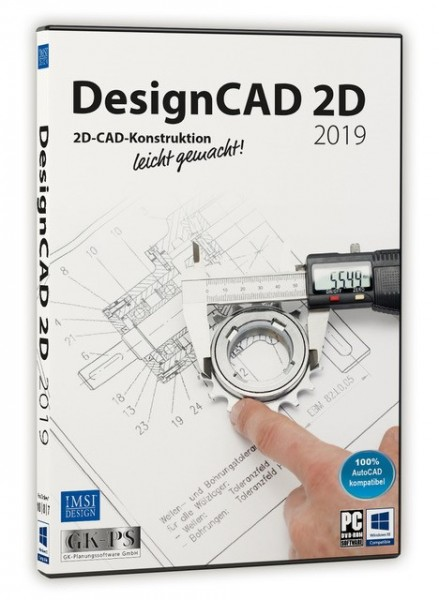 DesignCAD 2D 2019 (V28) UPGRADE Download