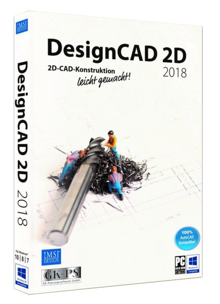 DesignCAD 2D 2018 (V27) UPGRADE Download