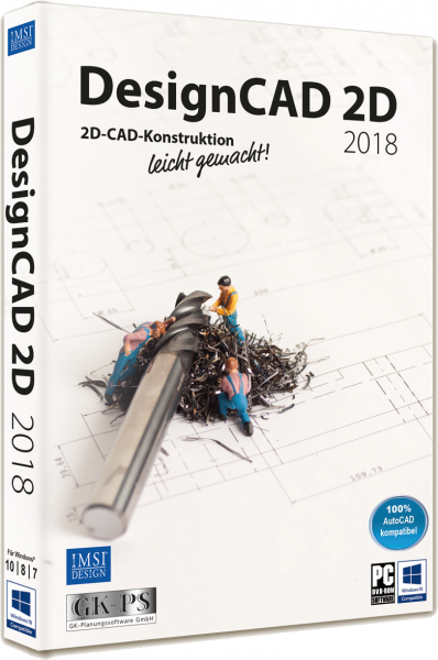 DesignCAD 2D 2018 (V27) Vollversion Download