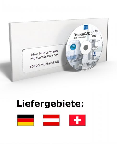 DesignCAD 3D MAX 2019 (V28) UPGRADE Datenträger + Lizenz