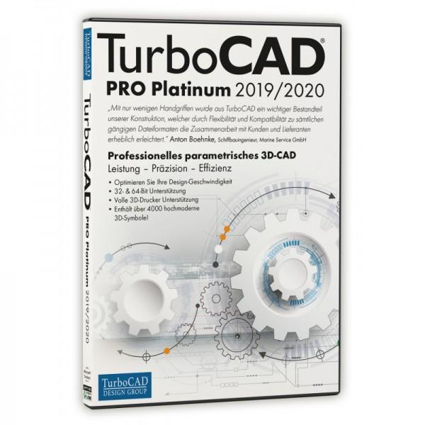 TurboCAD Pro Platinum 2019/2020 DVD-Box