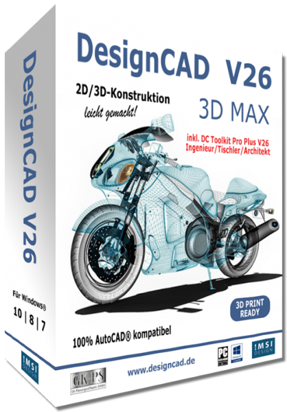 DesignCAD 3D MAX V26 Vollversion Download