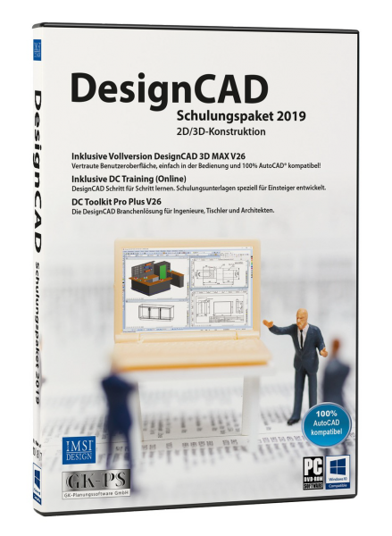 DesignCAD Schulungspaket 2019 Vollversion Download