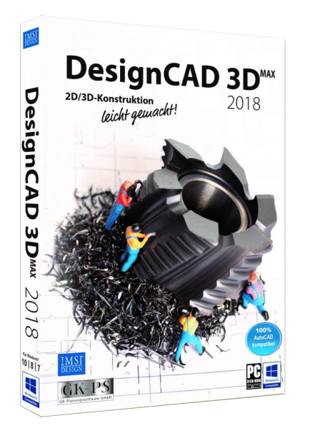 DesignCAD 3D MAX 2018 (V27) UPGRADE Download
